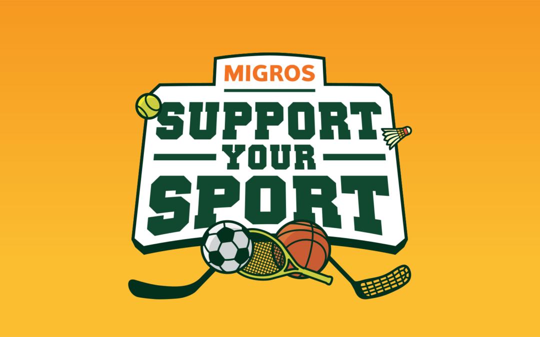 Support your Sport – Förderaktion der Migros